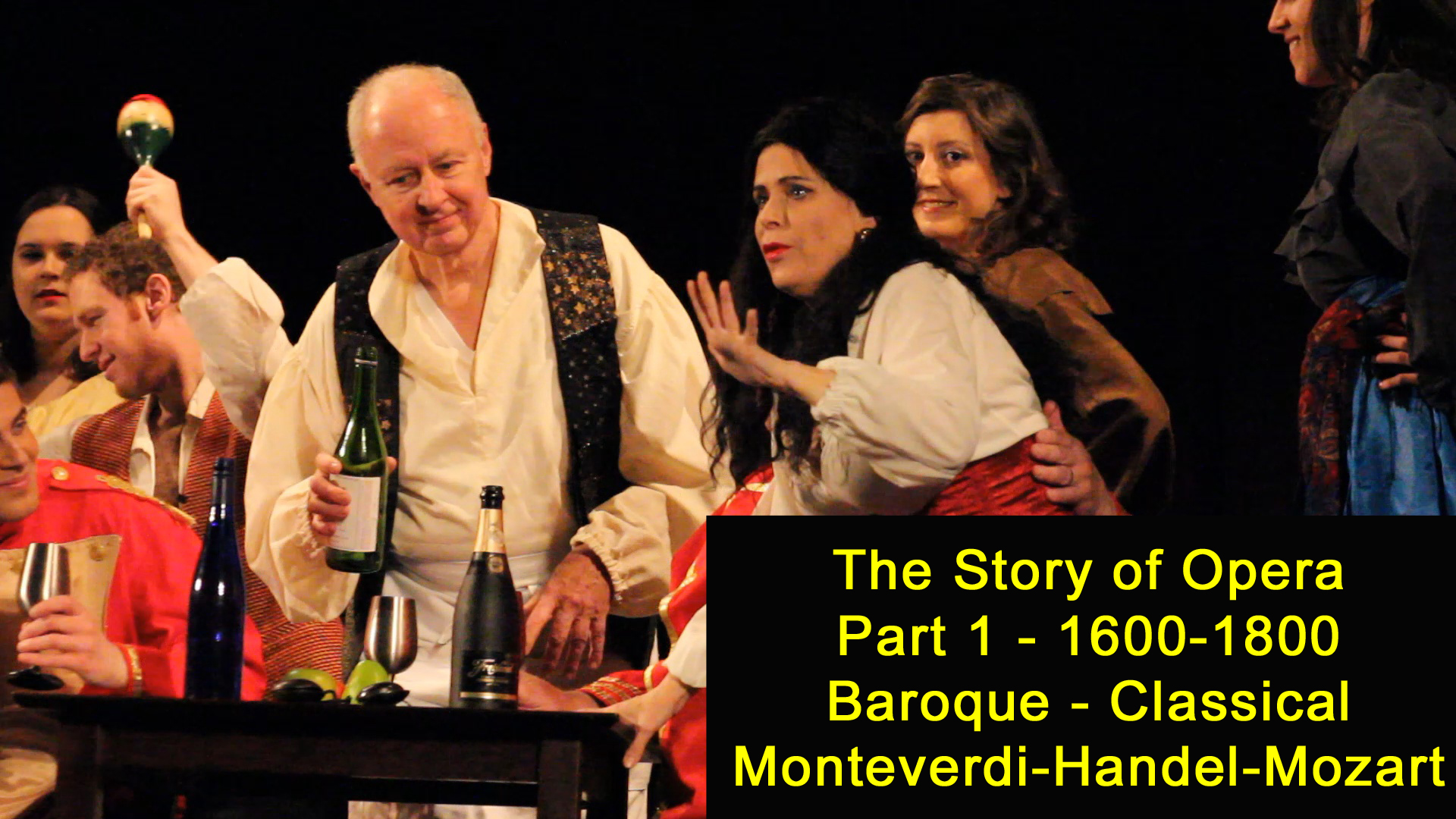 VIRTUAL The Story of Opera Part 1: Early Opera 1600-1800
