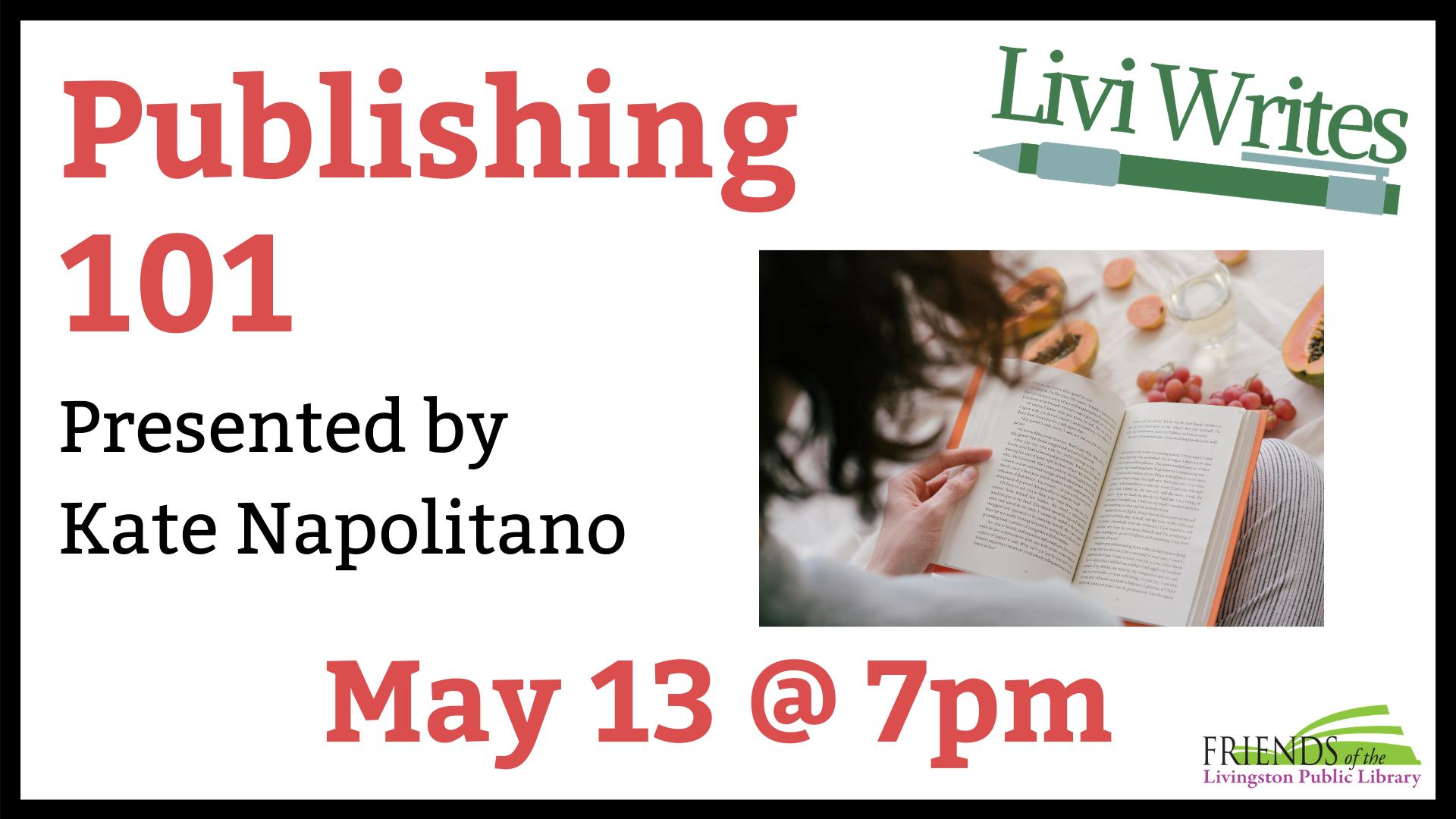 VIRTUAL Livi Writes: Publishing 101