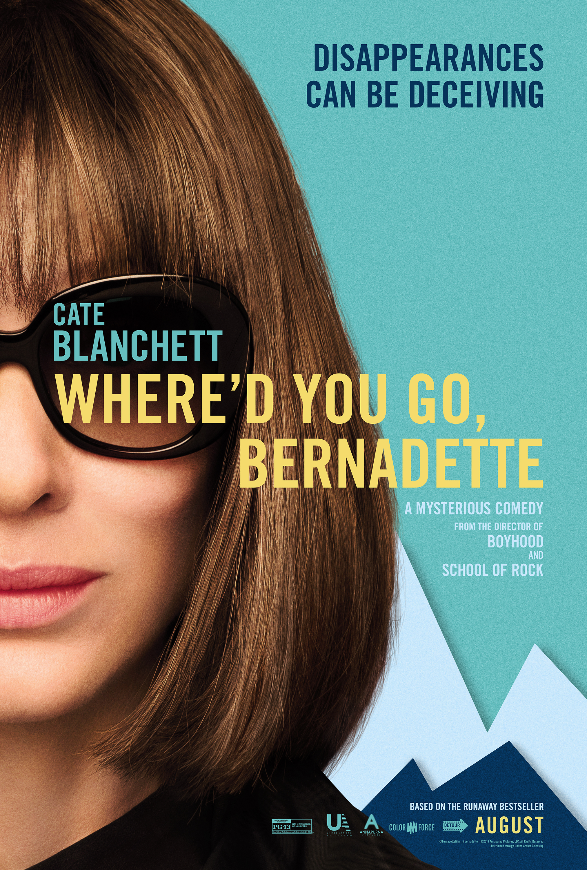 Movie-Where'd You Go, Bernadette