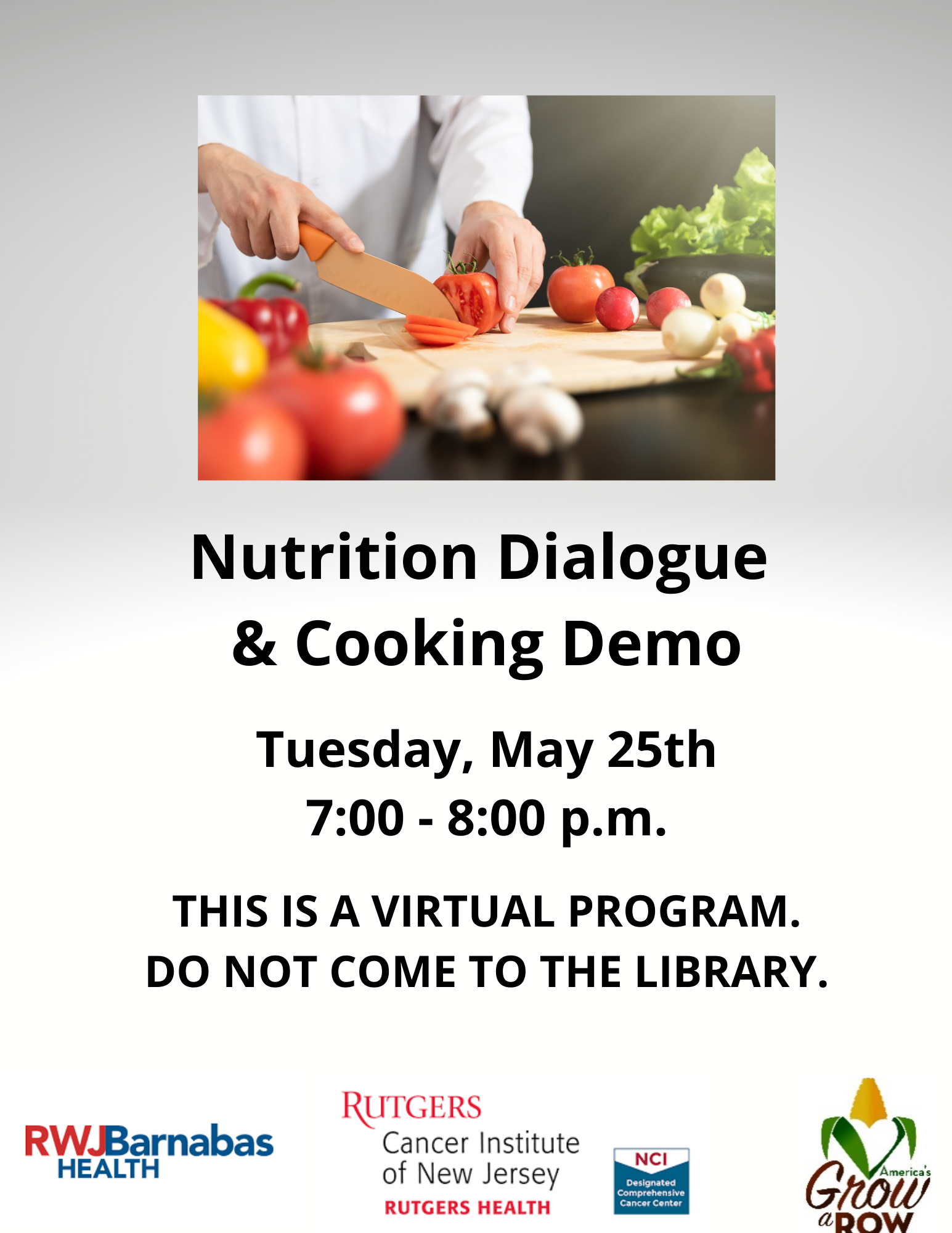 Nutrition Dialogue & Cooking Demo