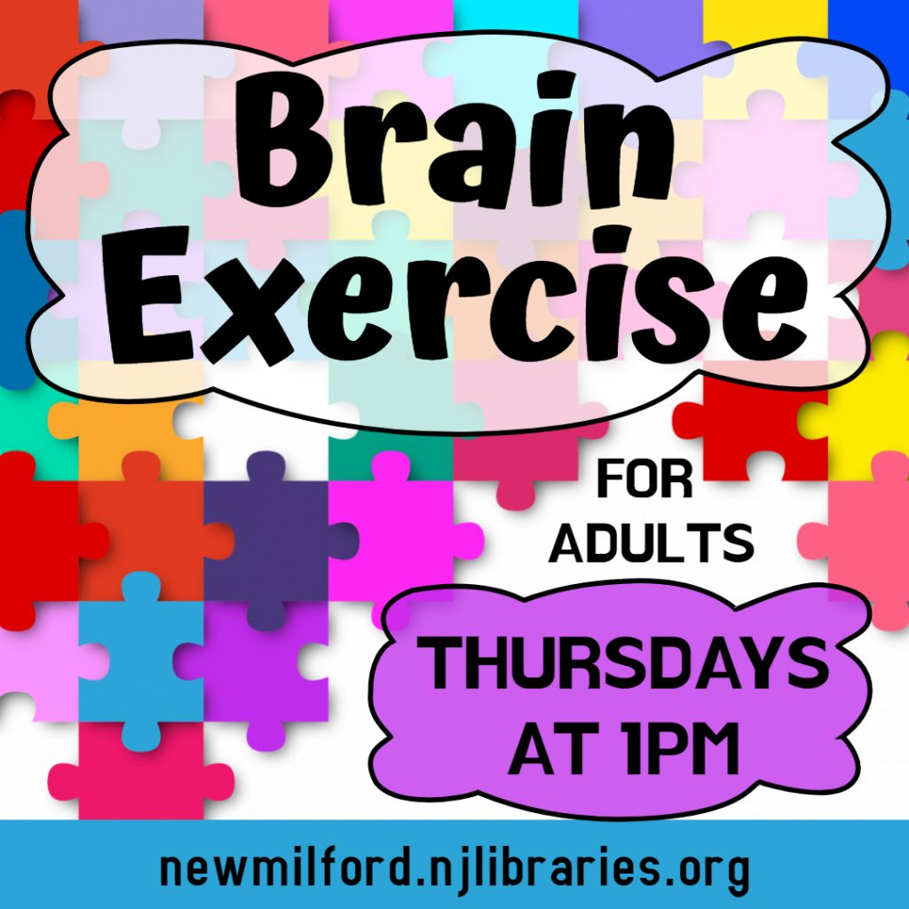 Brain Exercise for Adults