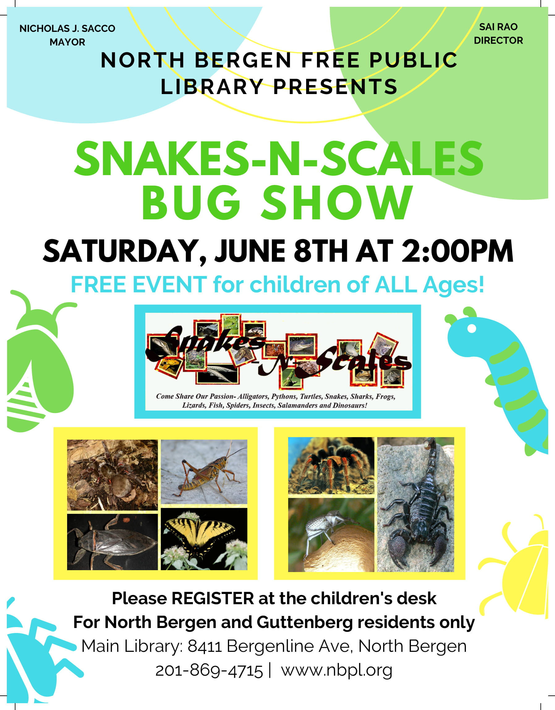 Snakes-N-Scales: Bug Show