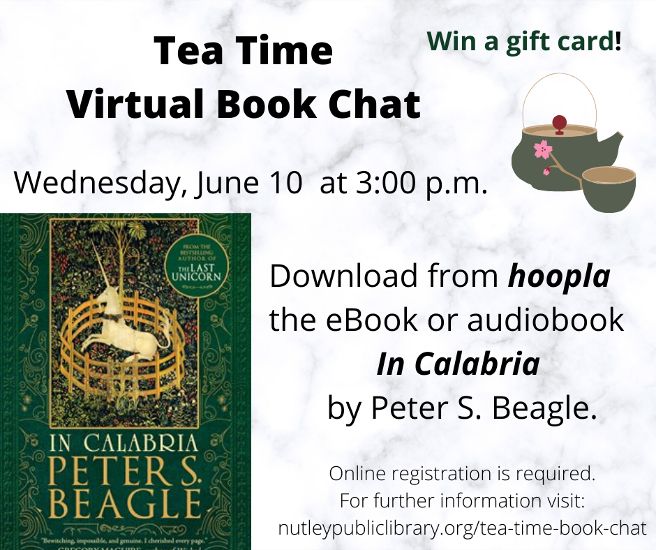 Tea Time Virtual Book Chat