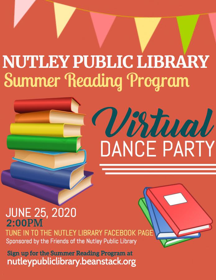 Summer Reading Program Virtual Kick-Off Party