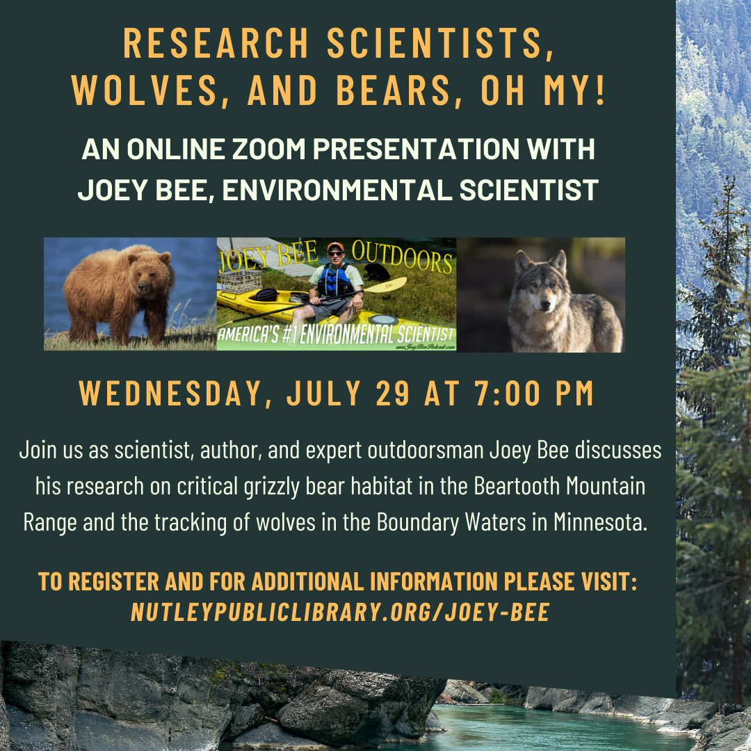 Joey Bee: Research Scientists, Wolves, and Bears, Oh My!