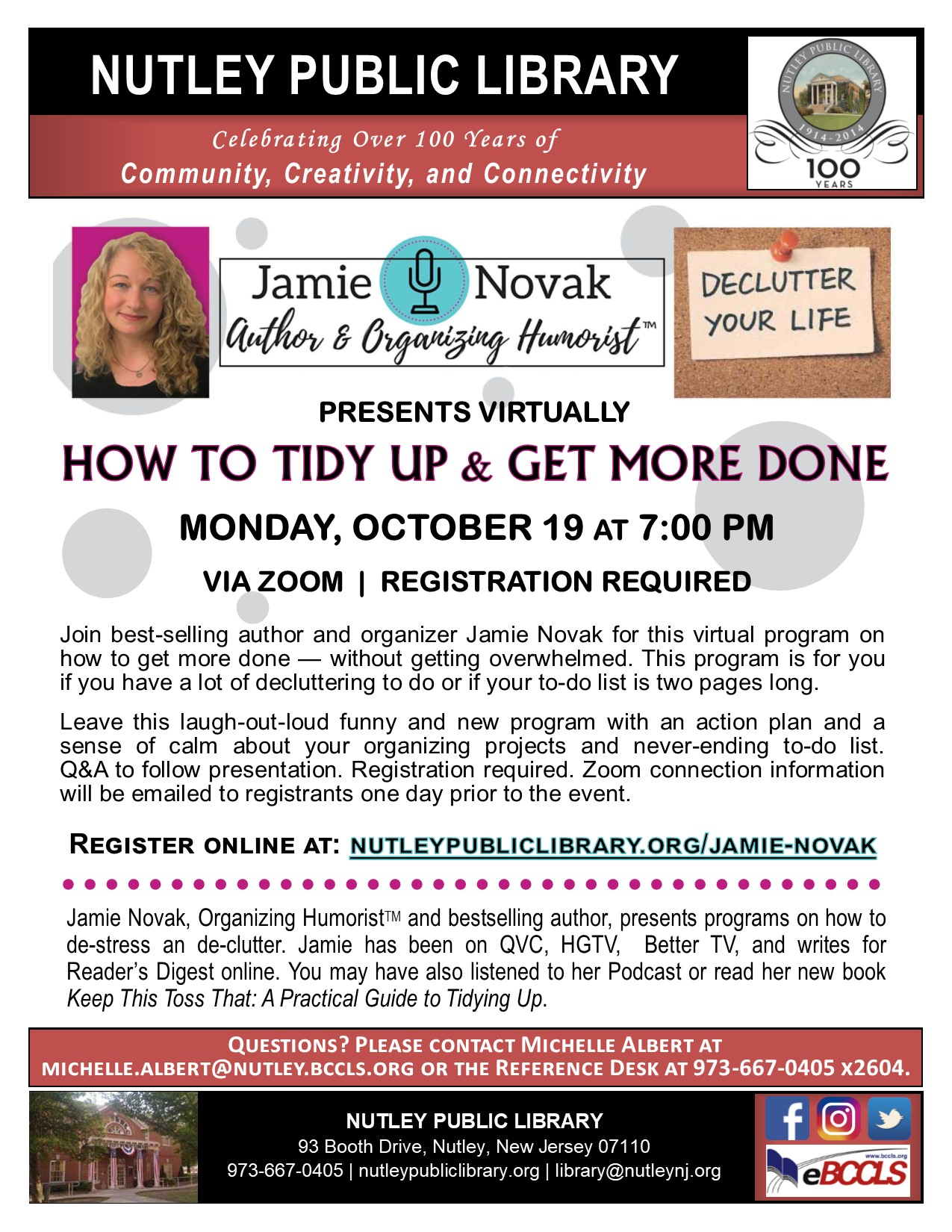 Jamie Novak: How to Tidy Up & Get More Done