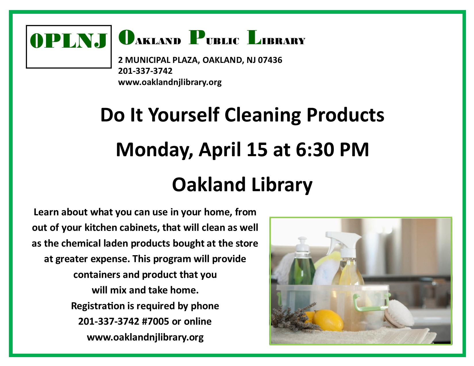 Do It Yourself Cleaning Products