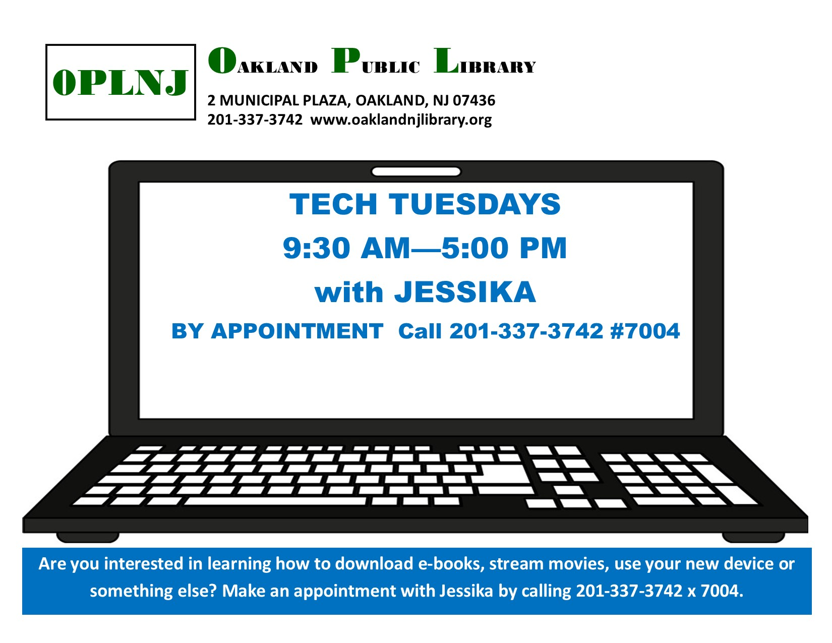 Tech Tuesdays with Jessika