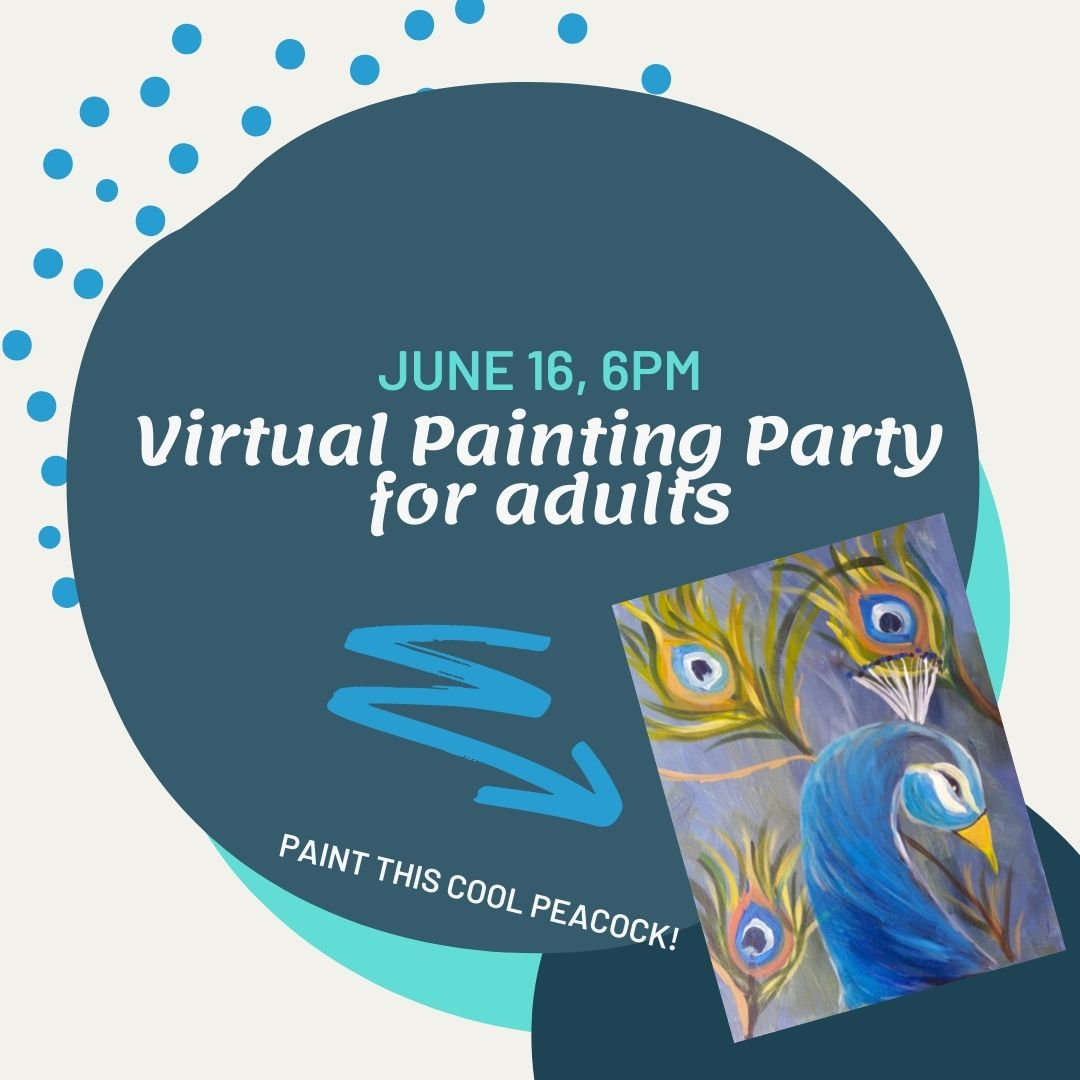 Virtual Painting Party for Adults