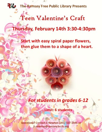 Teen Valentine's Day Craft