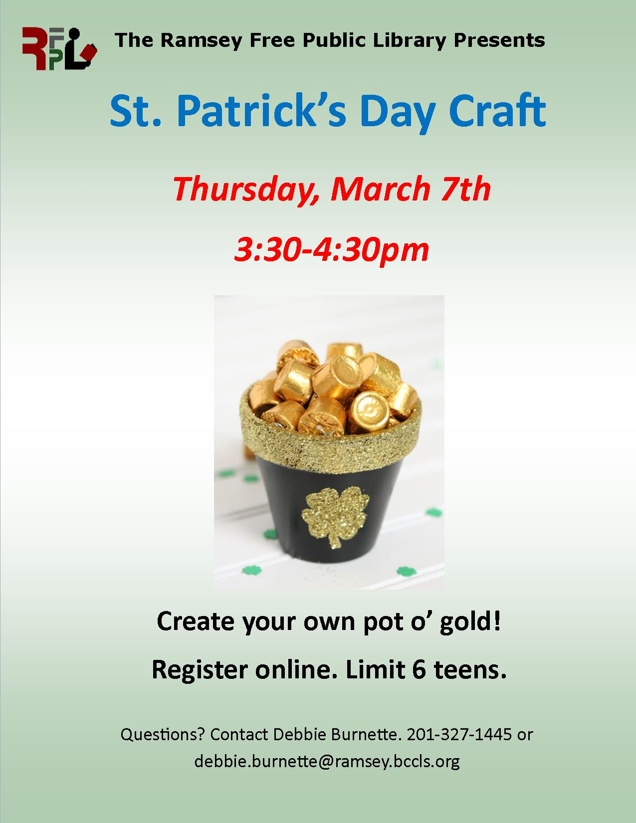 Teen St. Patrick's Day Craft