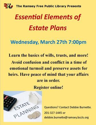 Essential Elements of Estate Plans