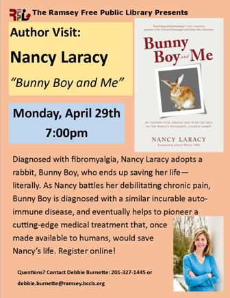 Author visit; Nancy Laracy