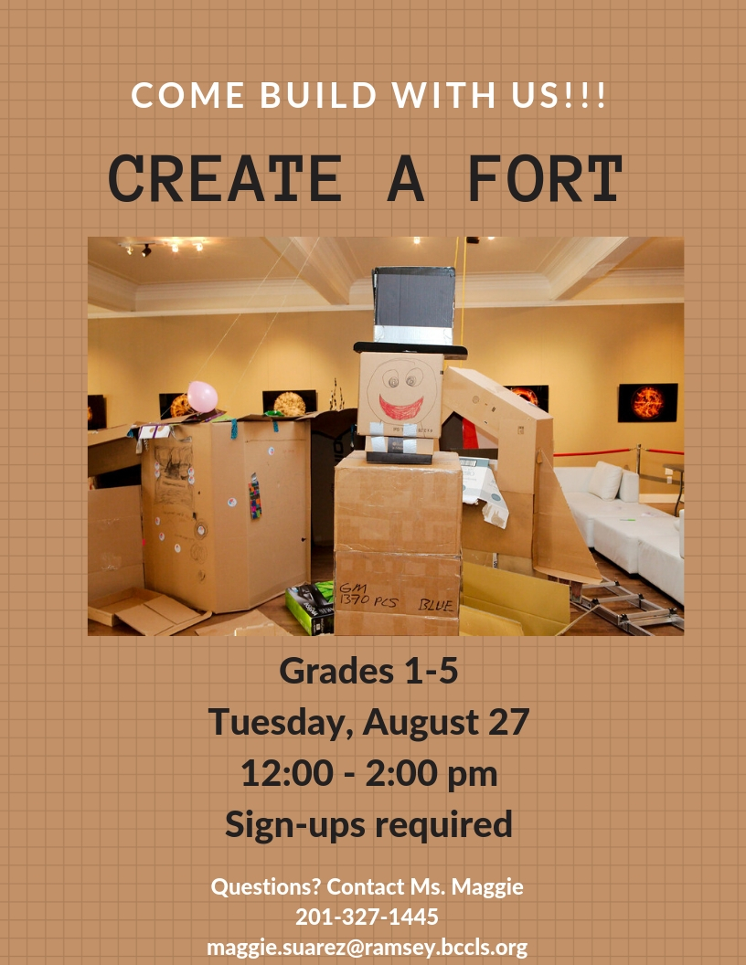 Create a Fort!