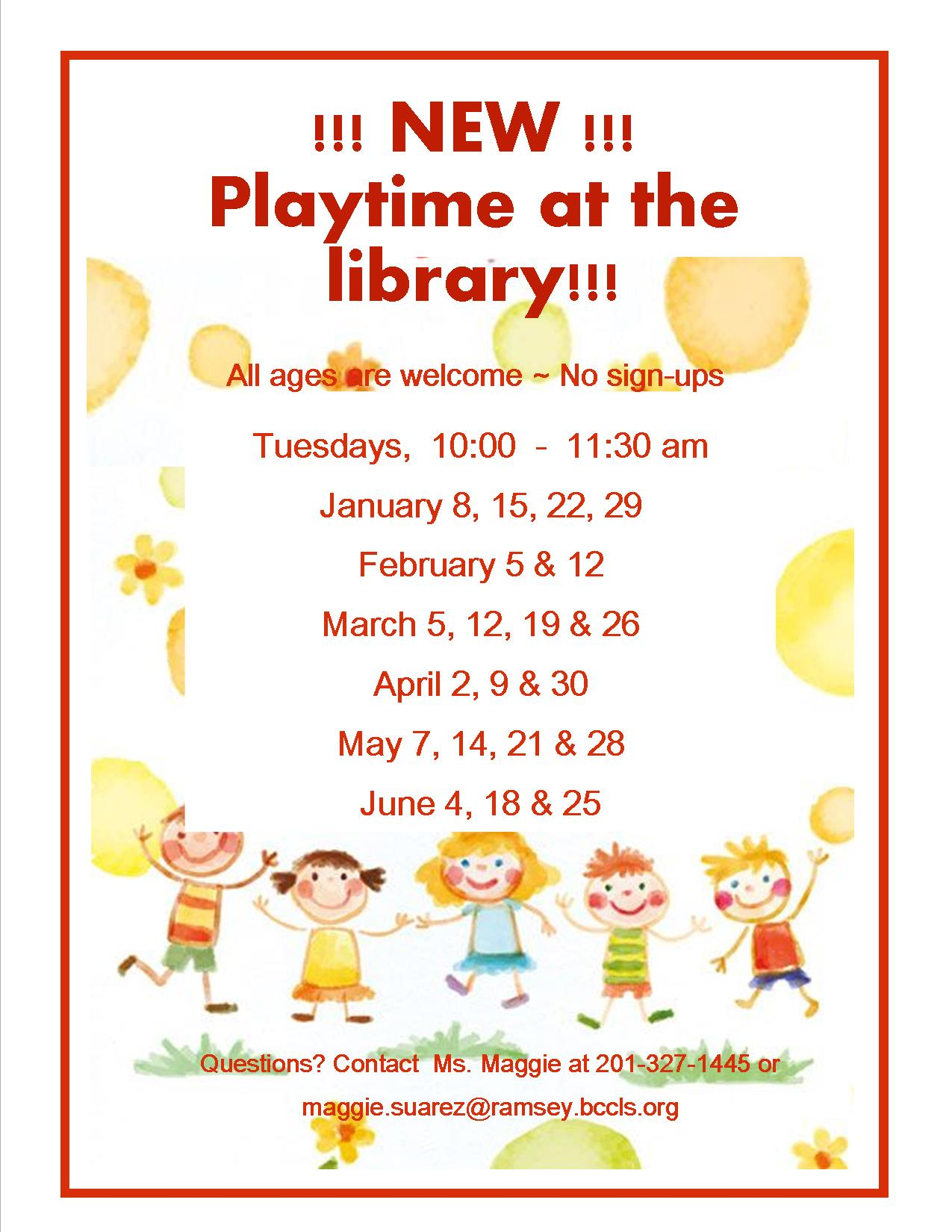 Playtime at the library