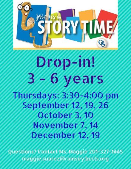 Story Time Thursday