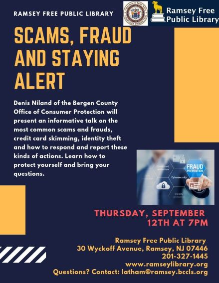 Scams, Fraud & Staying Alert!!