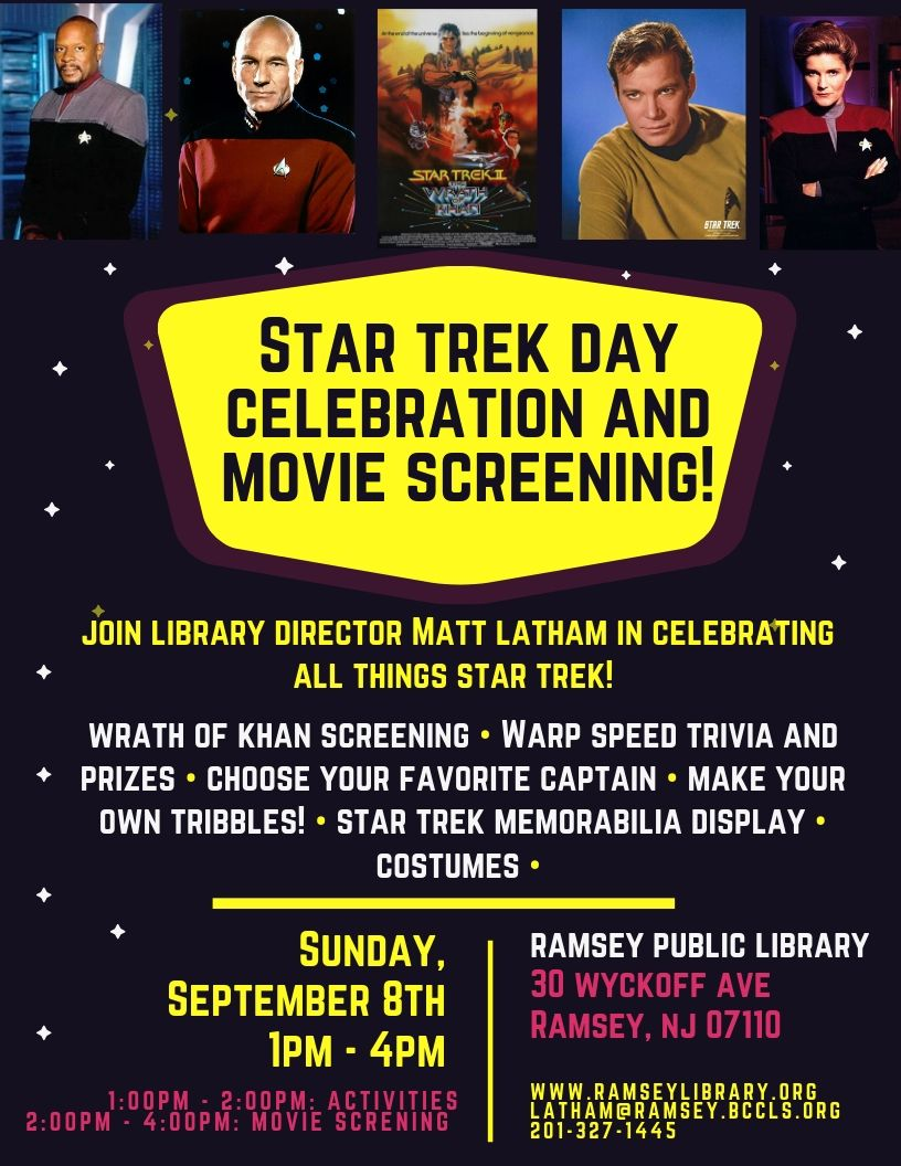 Star Trek Day Celebration!