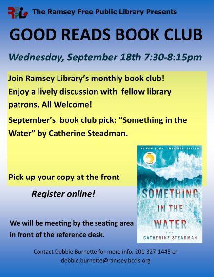 Good Reads Book Club