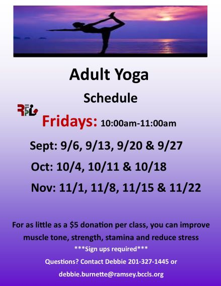 Friday Adult Yoga
