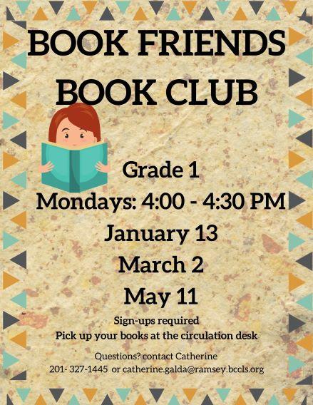 Book Friends Book Club
