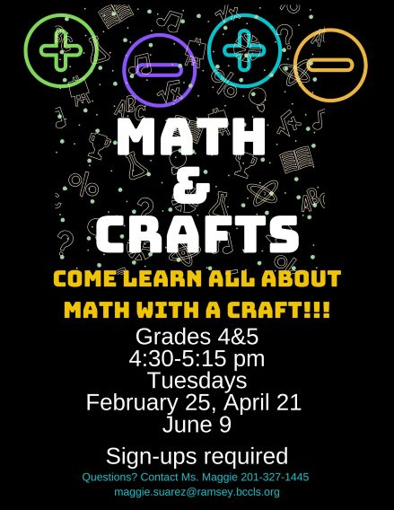 Math and Crafts