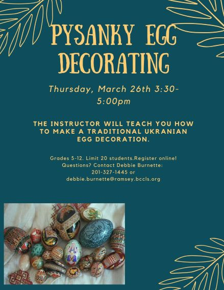 Pysanky egg decorating