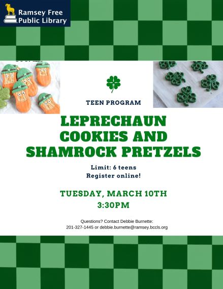 Leprechaun Cookies and Shamrock Pretzels