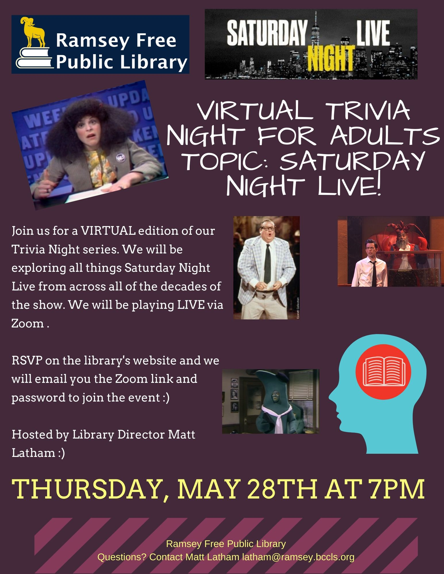 SNL Trivia Night for Adults