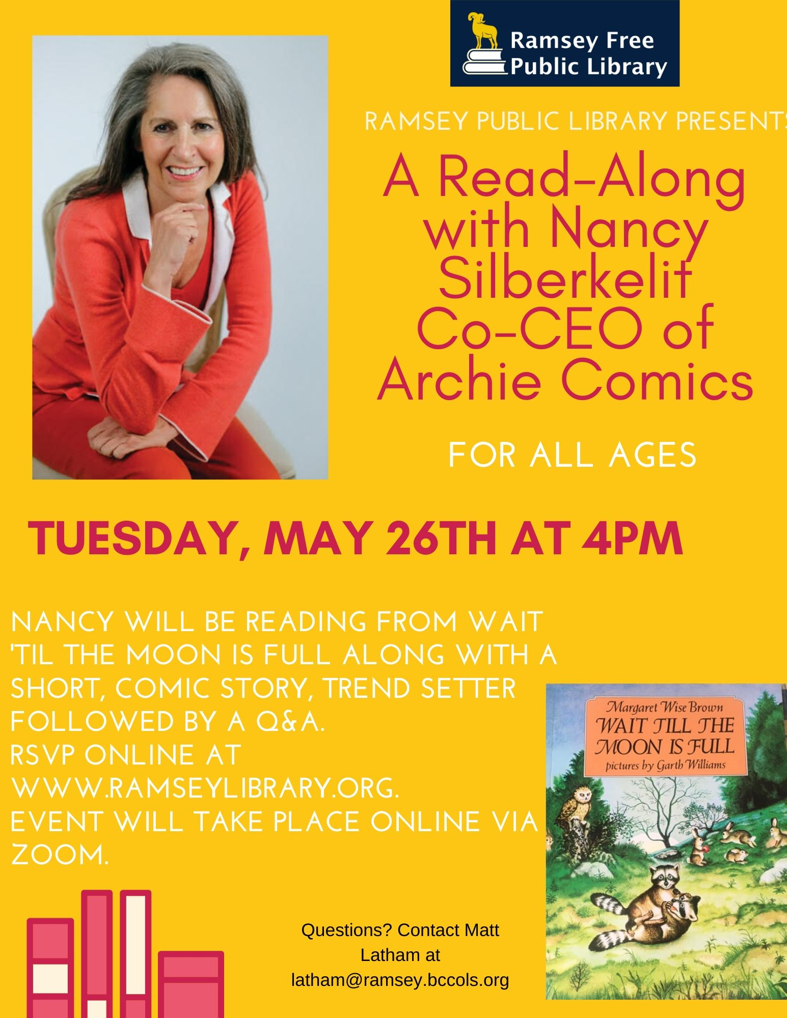 Read Along with Nancy Silberkleit, Co-CEO of Archie Comics