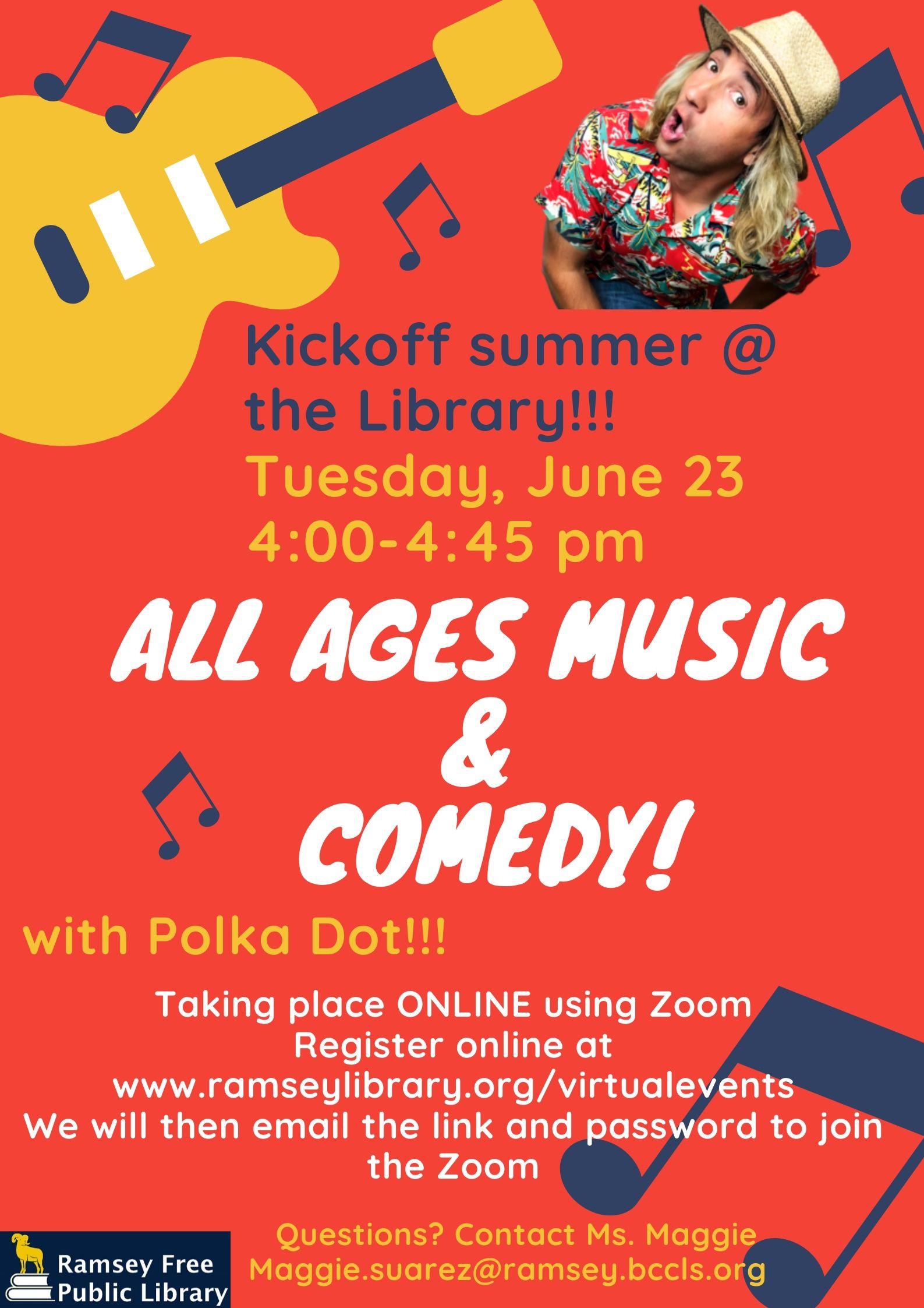 Summer Reading 2020 Kick Off Event via Zoom