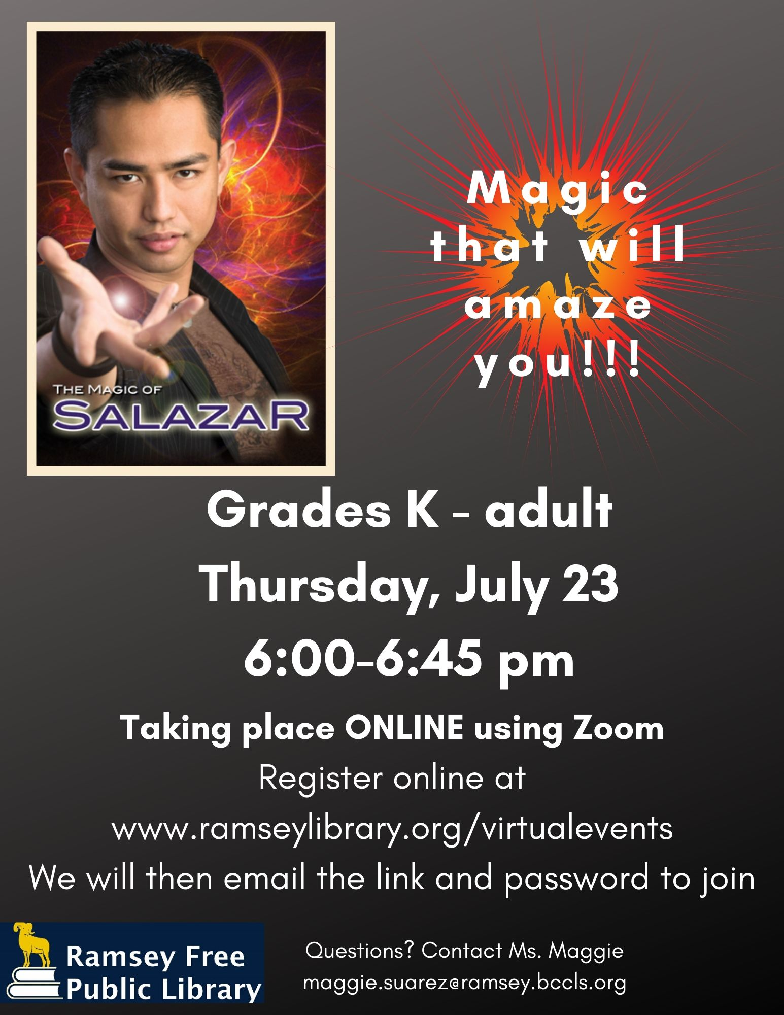 Summer 2020 Magic Show