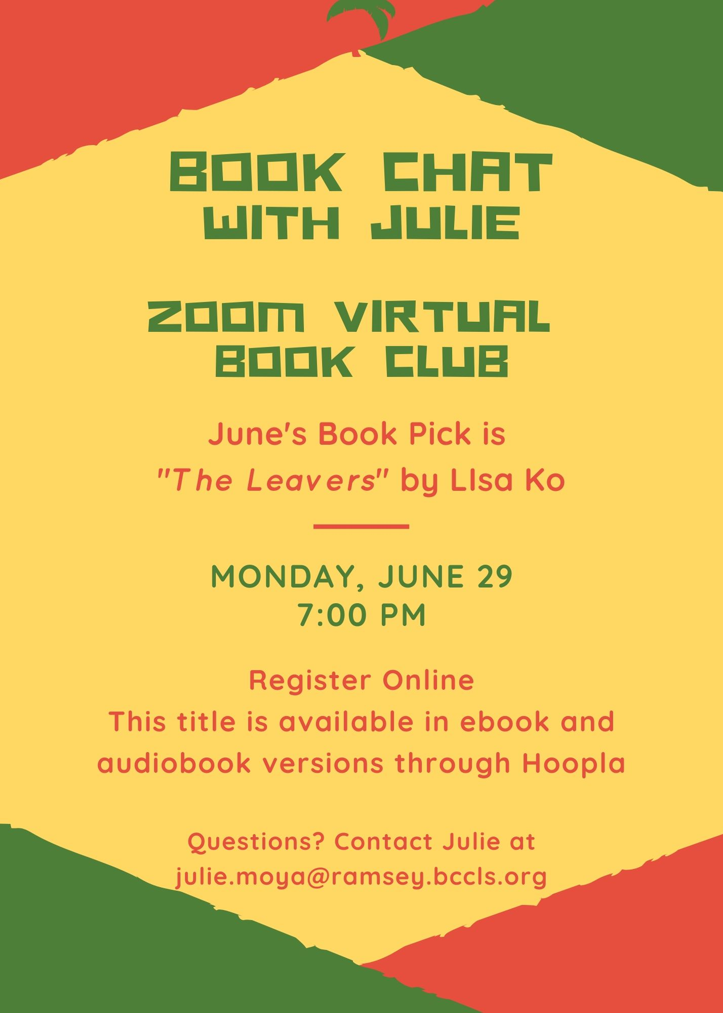 Book Chat w Ms. Julie