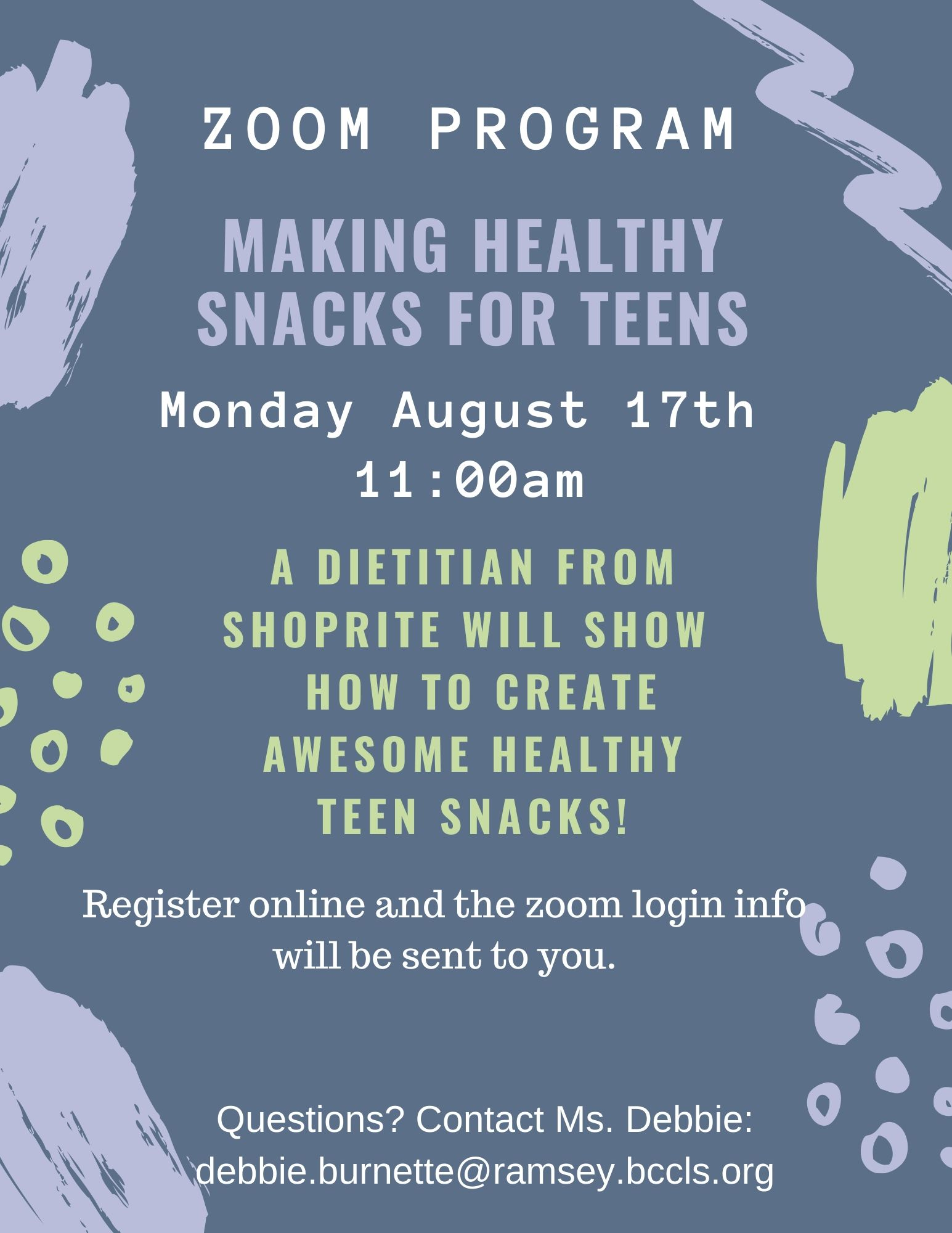 Making Healthy Teen Snacks