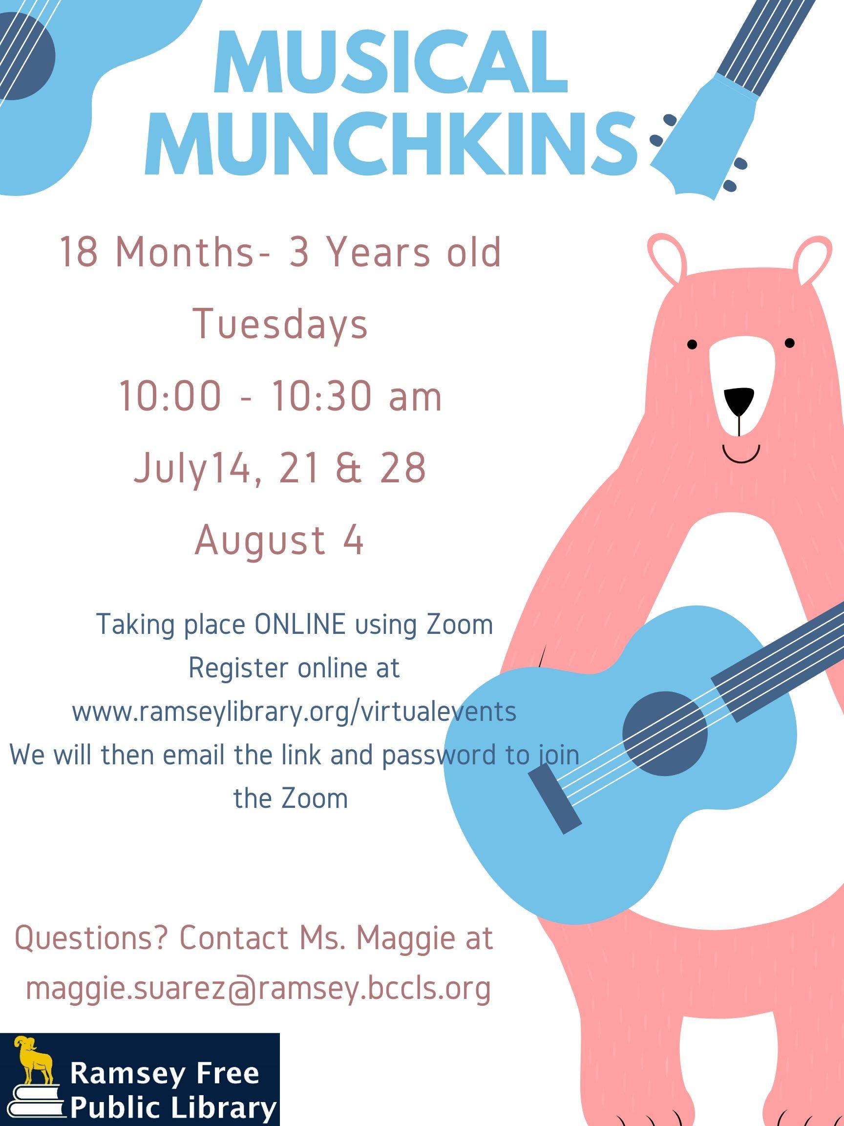 Musical Munchkins Summer 2020 (A)