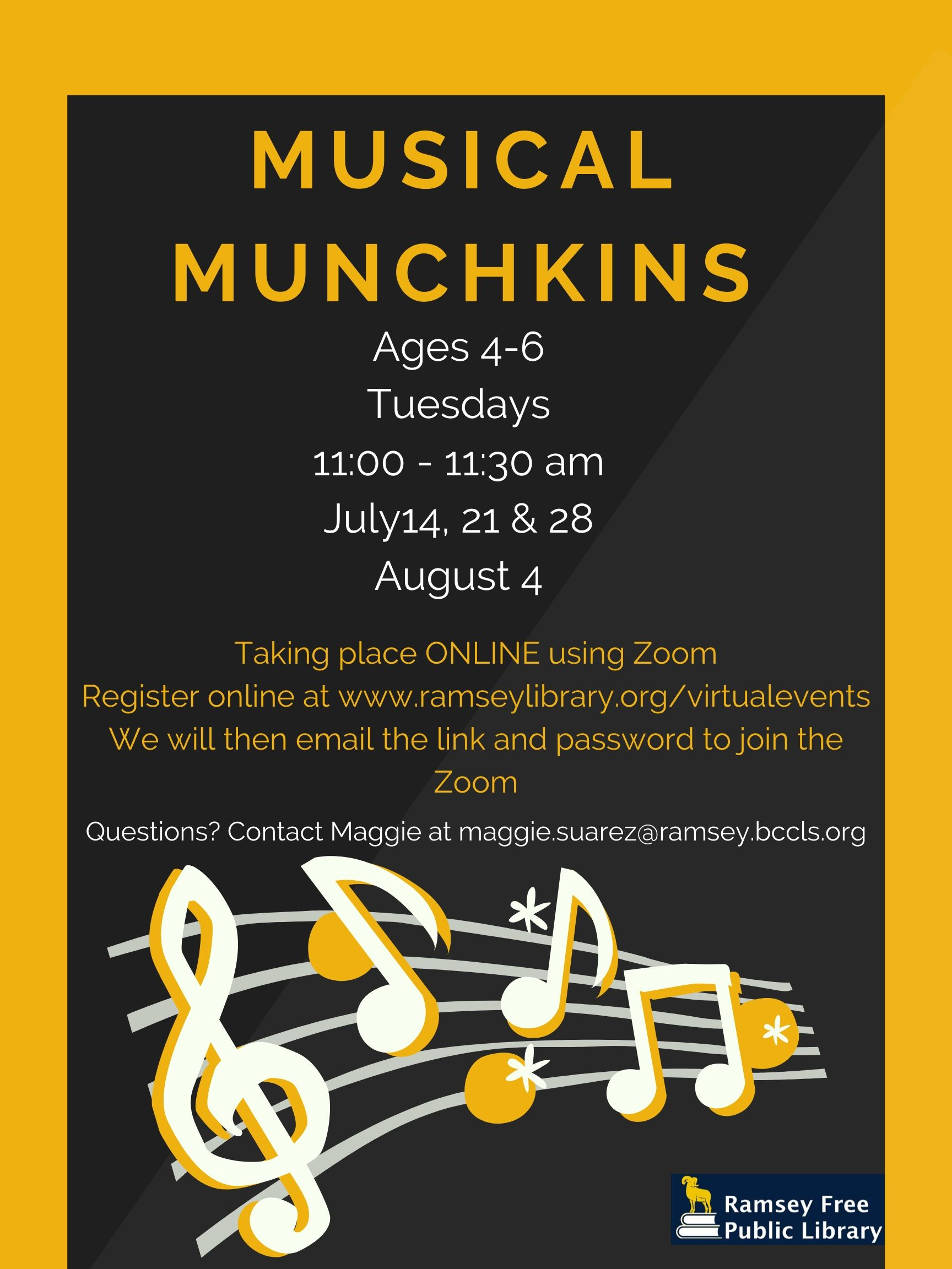 Musical Munchkins Summer 2020 (B)