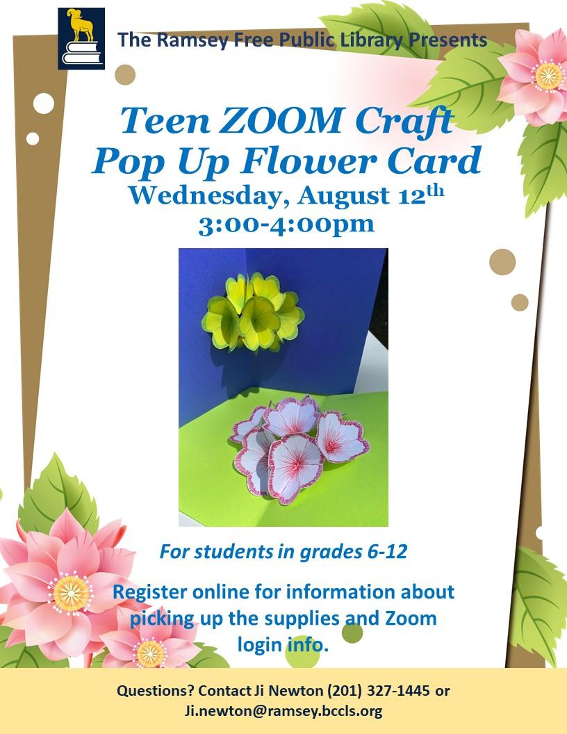Teen Zoom Craft