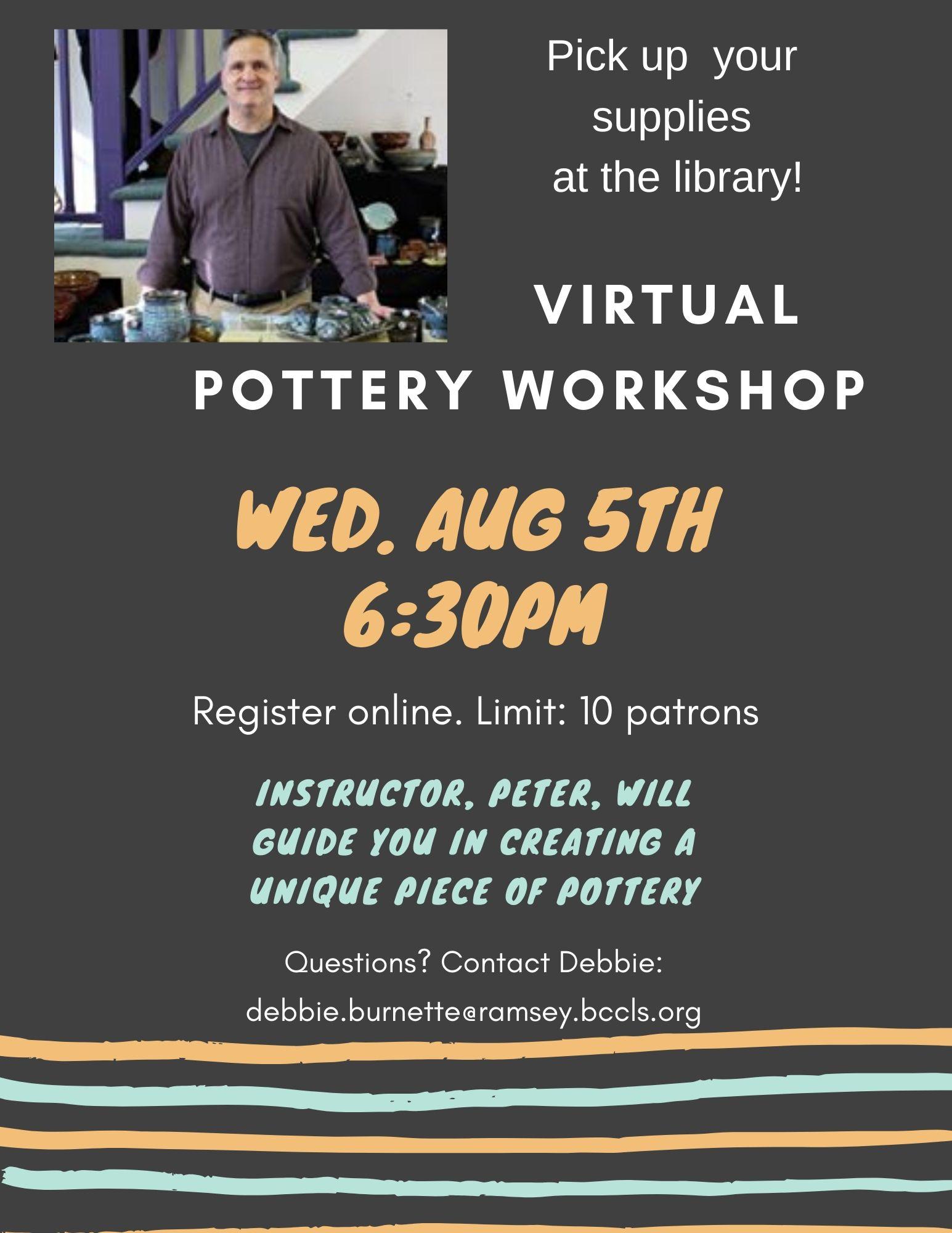 Virtual Pottery workshop