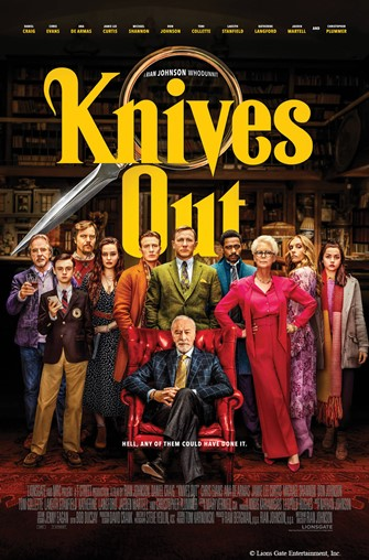 Movie Matinee: Knives Out (PG-13)