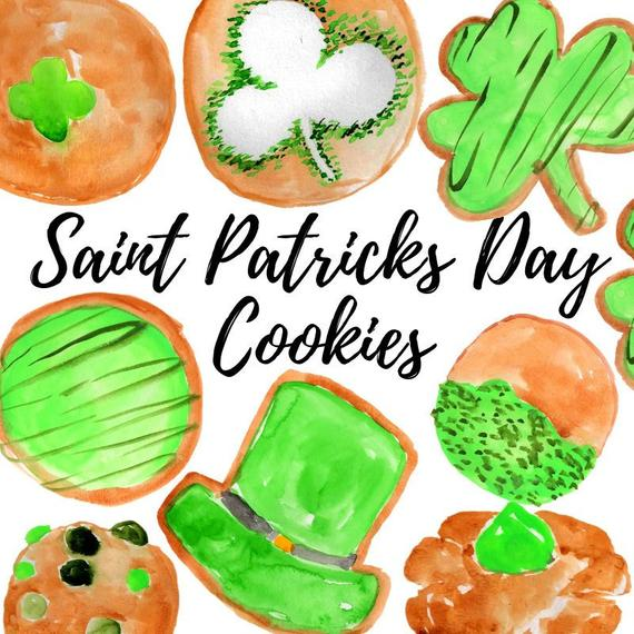 St. Patrick's Day Cookie Decorating