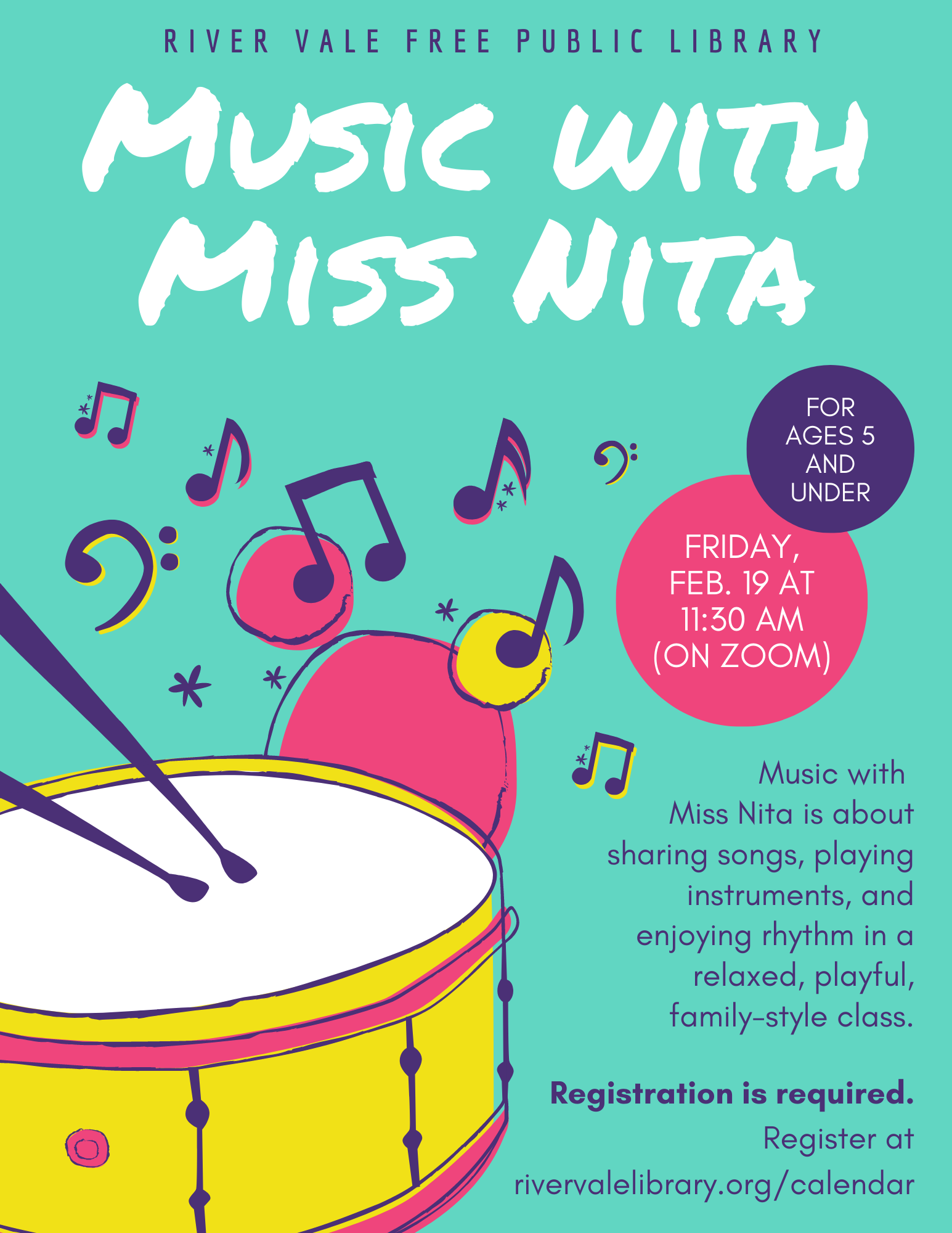 Music with Miss Nita (Online)