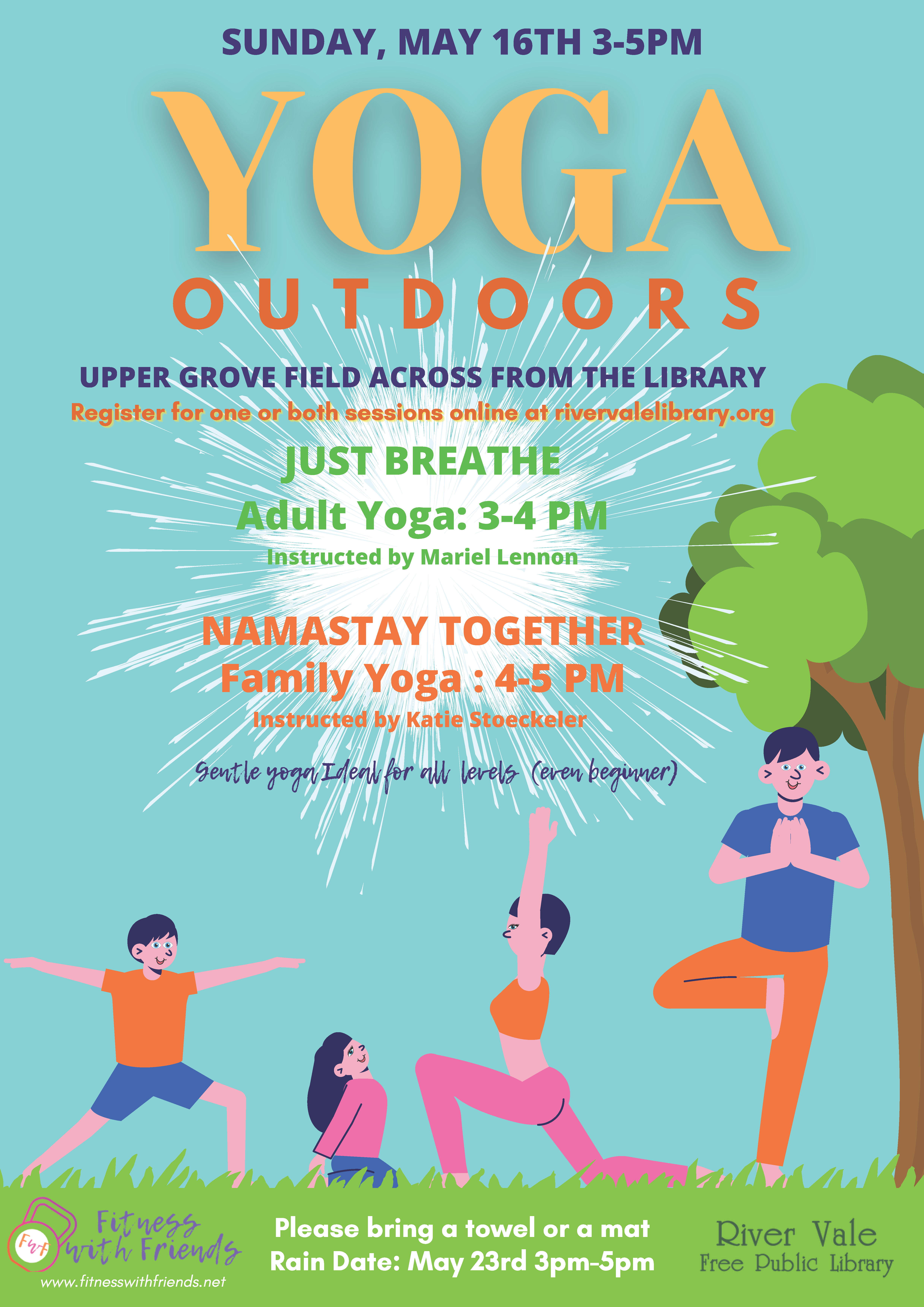 Adult Yoga Outdoor Event