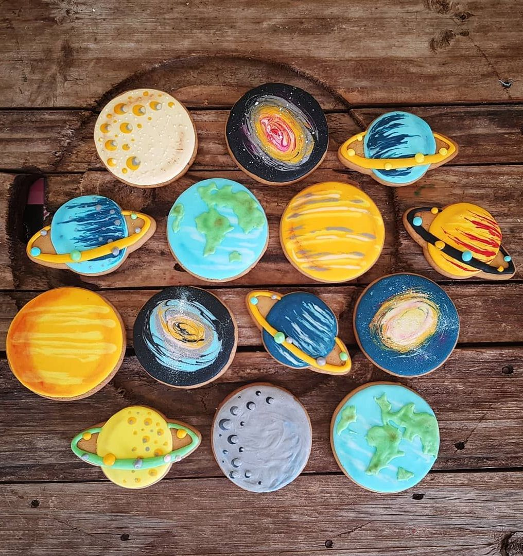 Edible Craft: Space-Themed Cookies