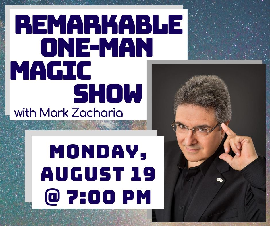 ReMARKable One-Man Magic Show