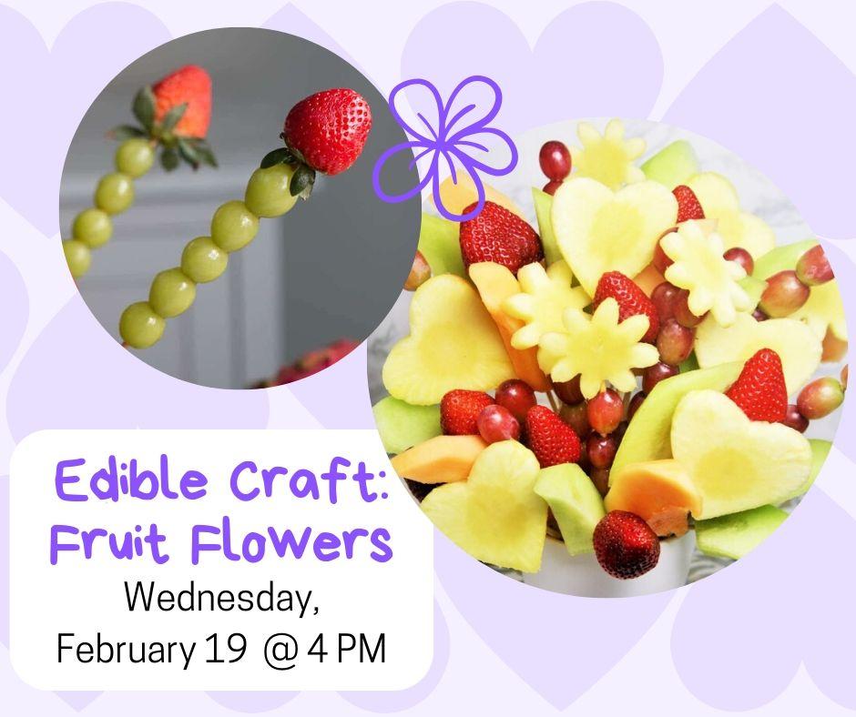 Edible Craft: Fruit Flowers