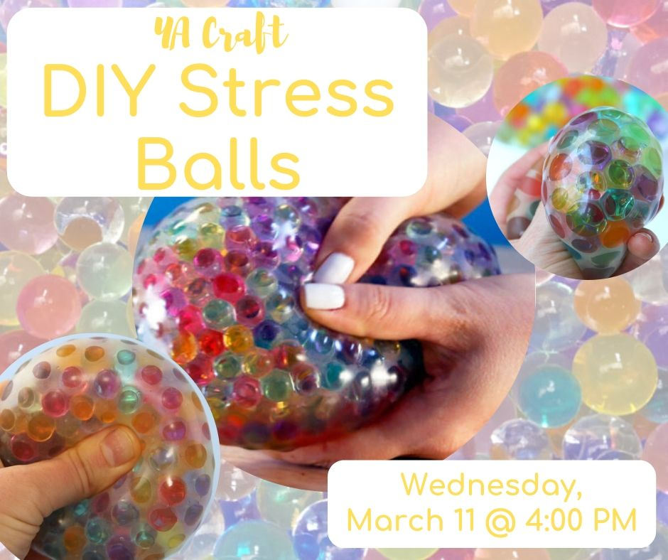 YA Craft: DIY Stress Balls