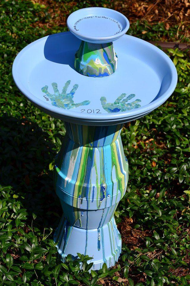 Grab-N-Go - Bird Bath Craft Kit