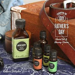 Adult Essential Oil - Father's Day DIY via zoom