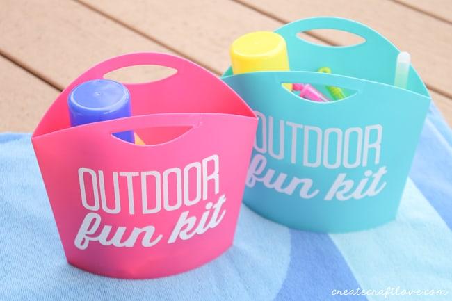 Grab-N-Go Kids Outdoor Fun Kit