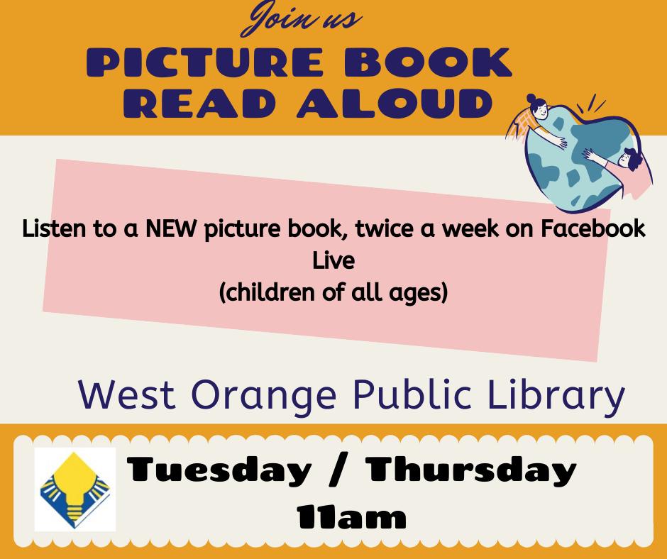 Picture Book Read Aloud- Facebook Live
